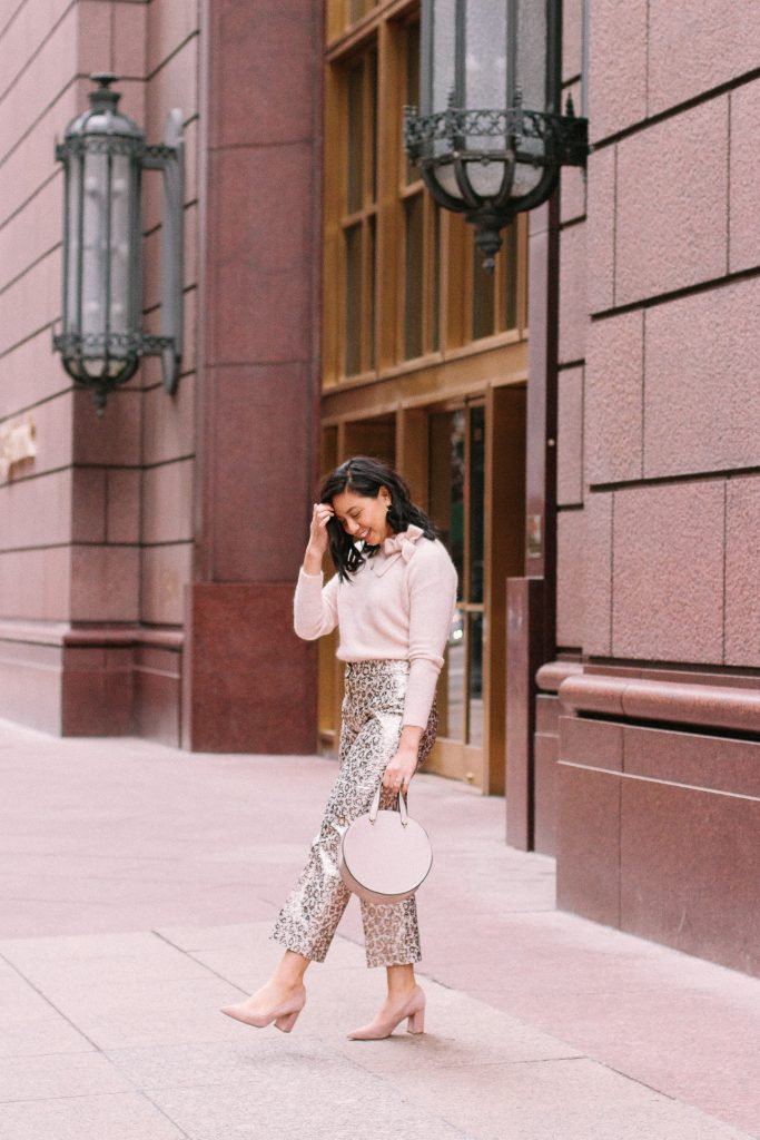 Chic Holiday Pants Outfit