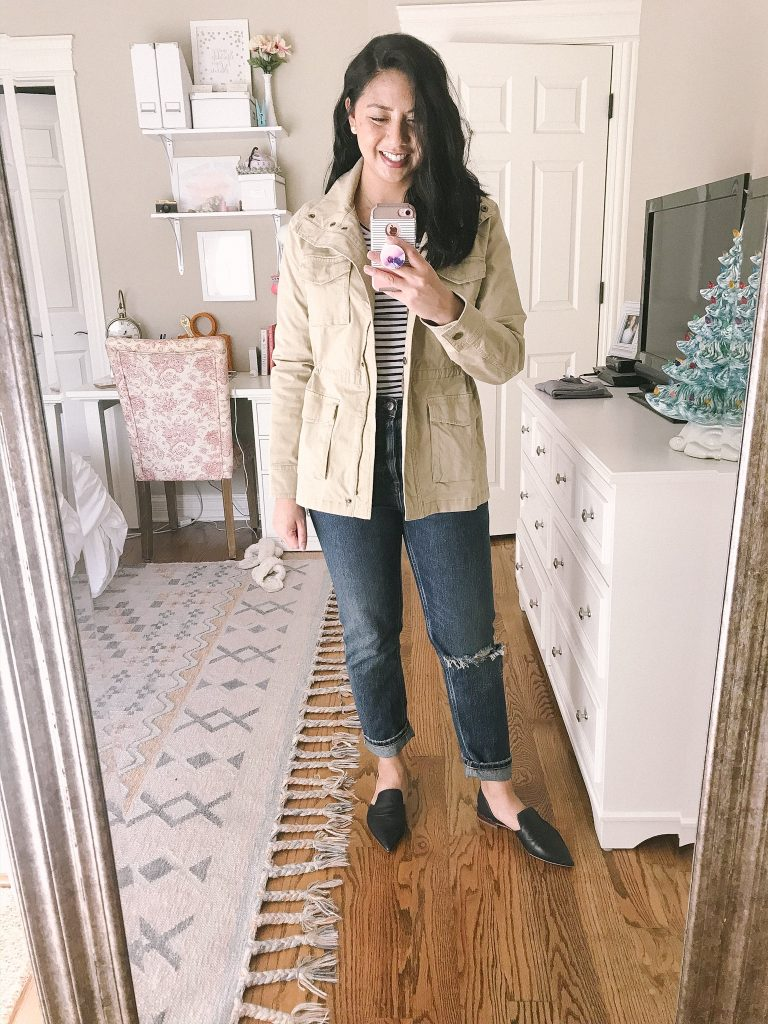 Utility Jacket for Fall