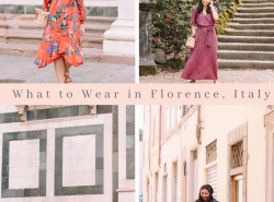 What to wear in Florence in October