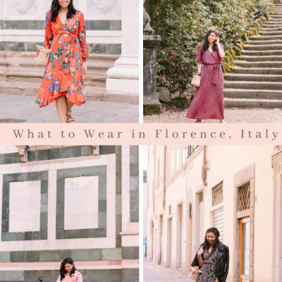 What to Wear in Florence in October + Nordstrom Giveaway