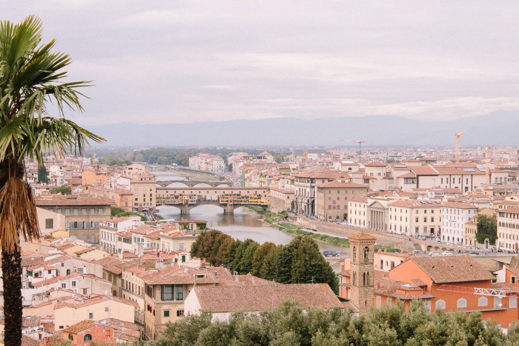 Piazzale Michelangelo - Best panoramic view in Florence.