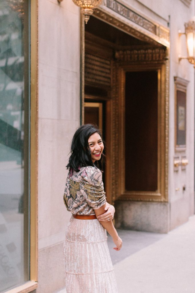 Why This Sequined Blouse Is My Favorite