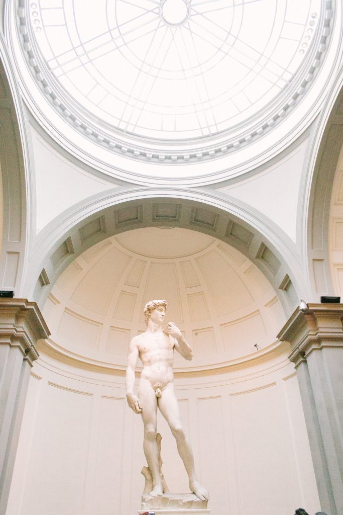 Where to find the original Statue of David