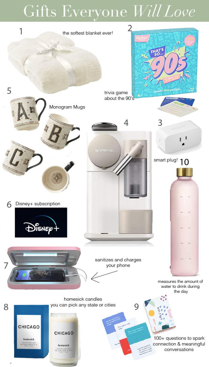 10 Gifts Everyone Will Love  + Amazon Giveaway