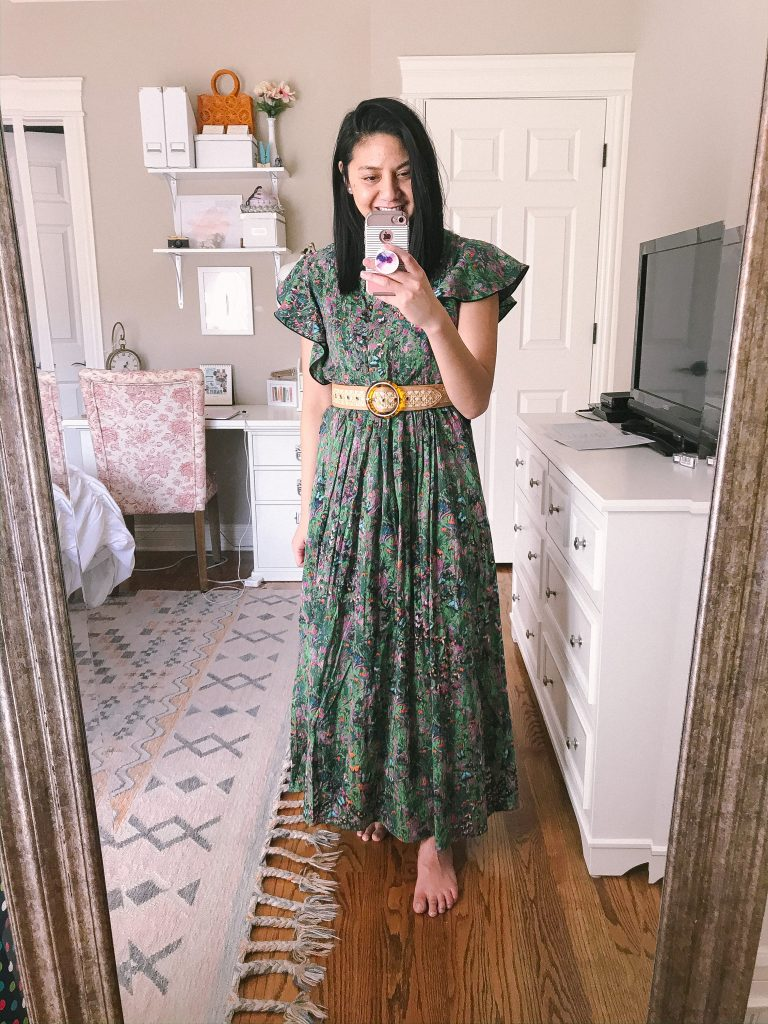 Vacation Style - Floral Maxi Dress