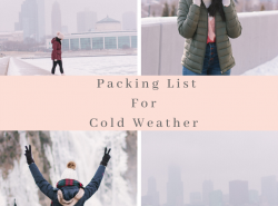 Packing List For Cold Weather
