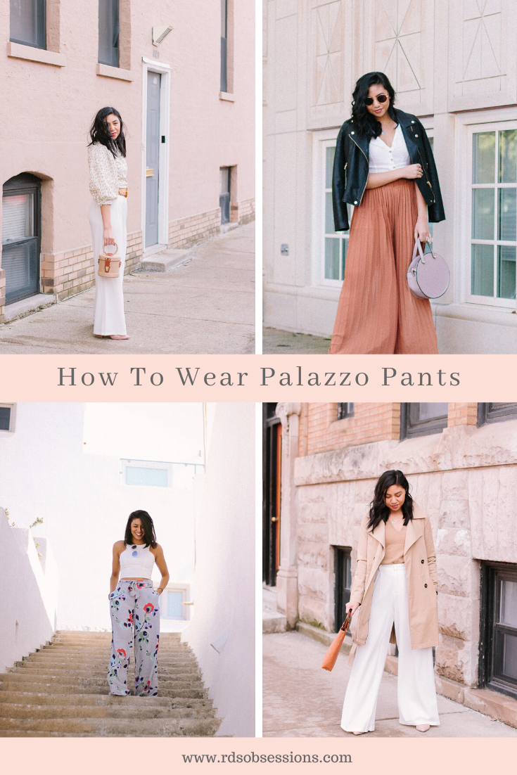 How To Wear Palazzo Pants And Look Chic