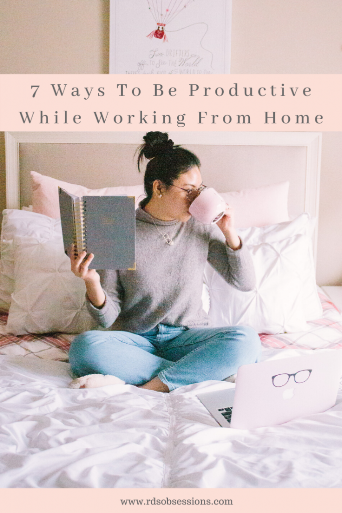 Working From Home Tips On Being Productive