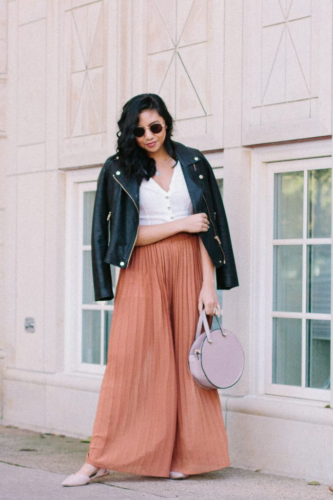 How To Wear Palazzo Pants.