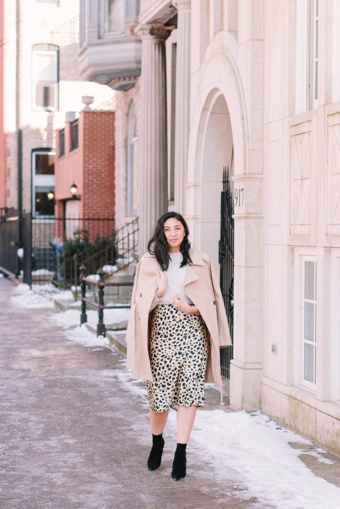 5 Ways To Style A Leopard Print Slip Skirt