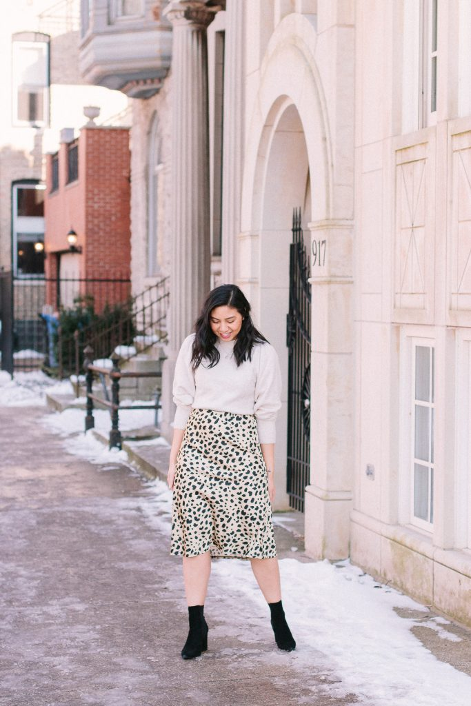 5 Ways To Style A Leopard Print Skirt