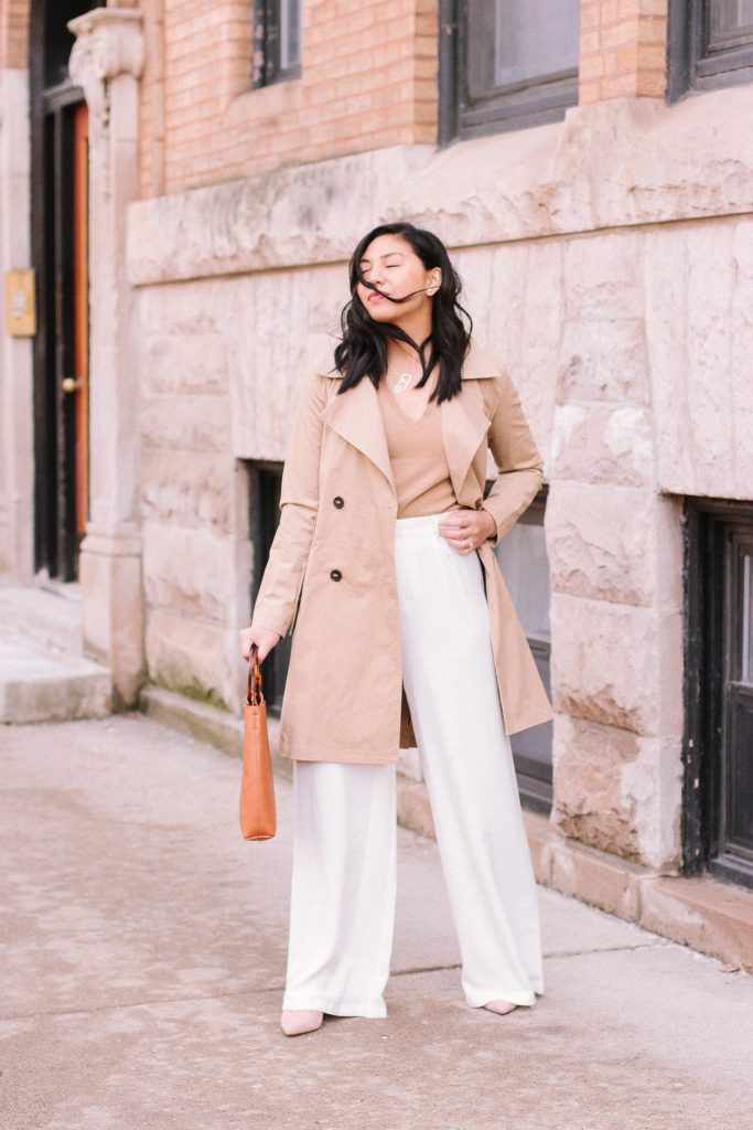 Palazzo Pants Outfit For Work Style