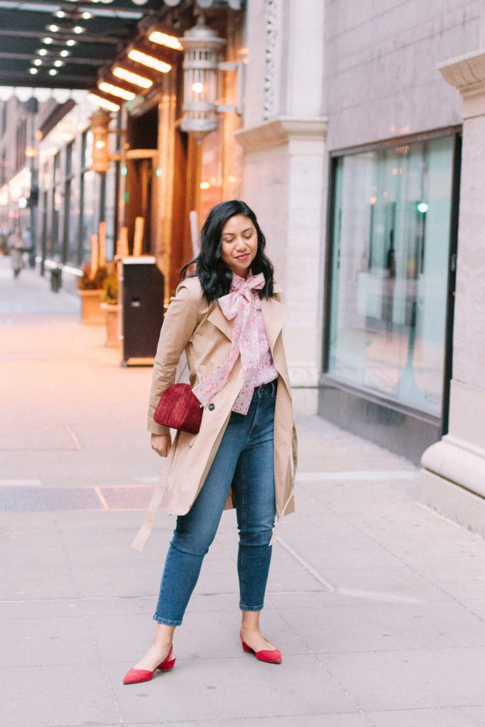 Dressy Casual Trench Coat Outfit