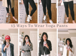 13 Ways To Wear Yoga Pants