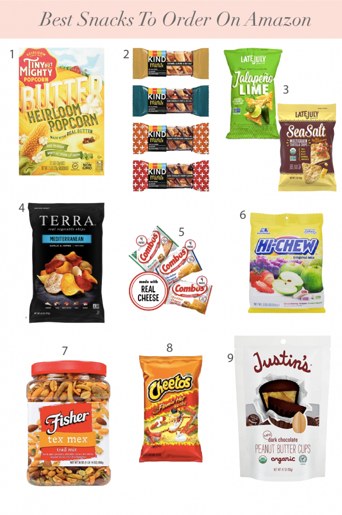 Best Snacks To Order On Amazon