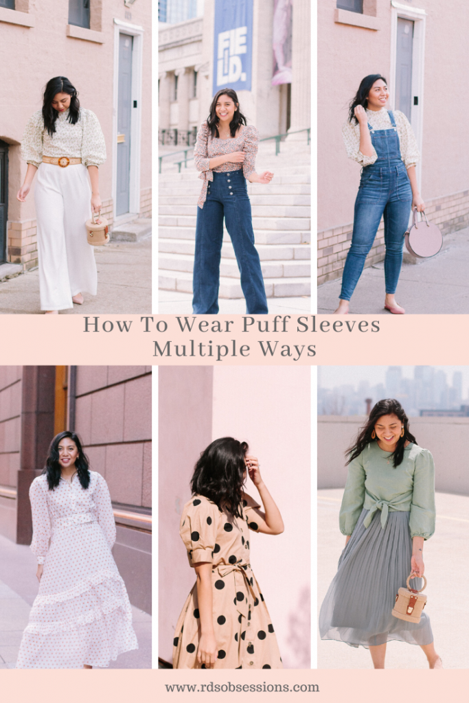 How To Wear Puff Sleeves Multiple Ways