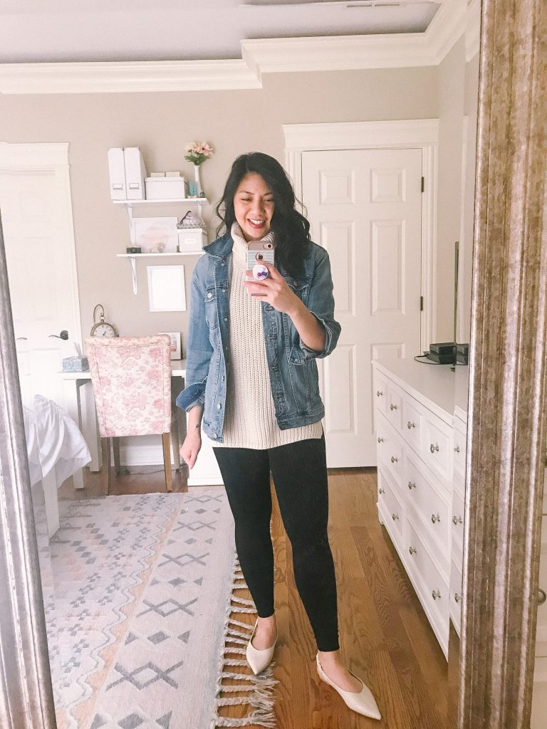 How to style a jean jacket