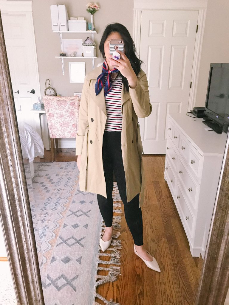 Parisian Style Outfit