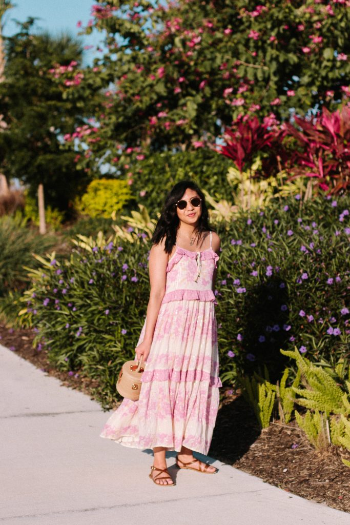 Flowy Maxi Dress Perfect For Hot Summer Day