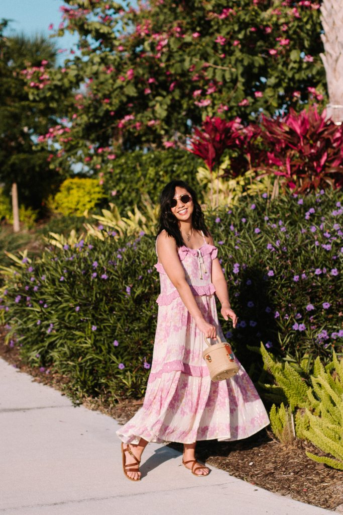Flowy Maxi Dress Perfect For Hot Summer Days