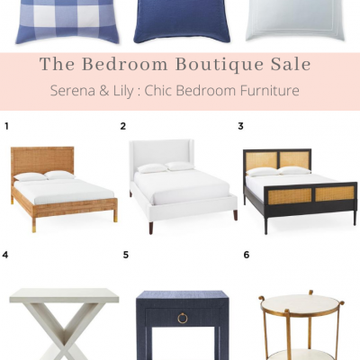 Serena & Lily – The Bedroom Boutique Sale