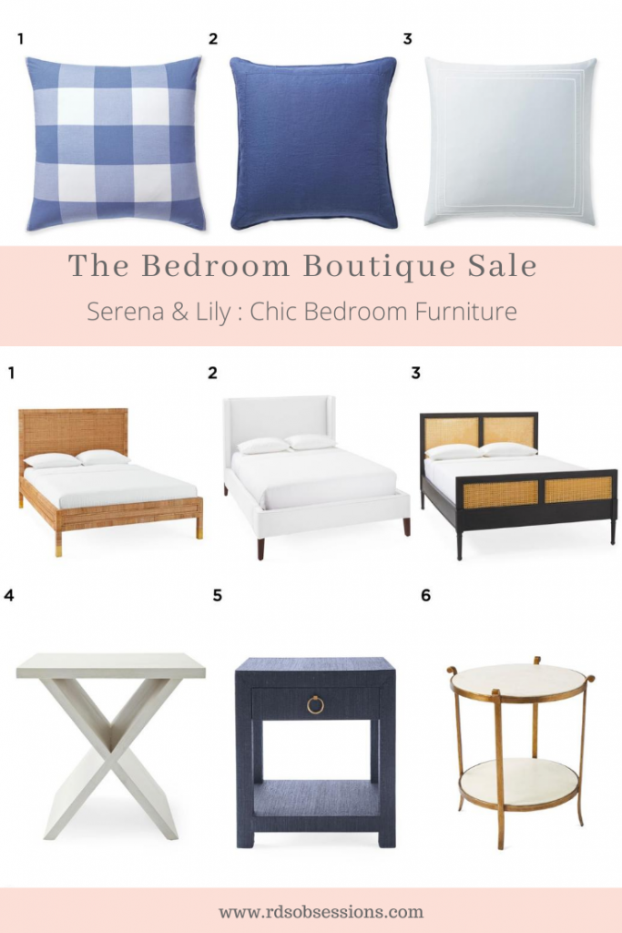 Serena & Lily - The Bedroom Boutique Sale