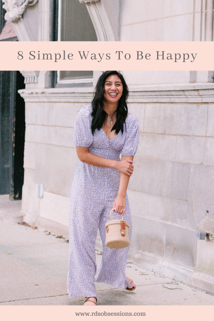 8 Simple Ways To Be Happy