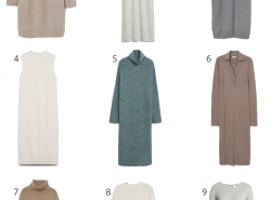Affordable Sweater Dresses. Budget-Friendly Sweater Dresses