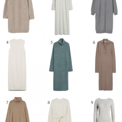 9 Affordable Sweater Dresses + Amazon Giveaway