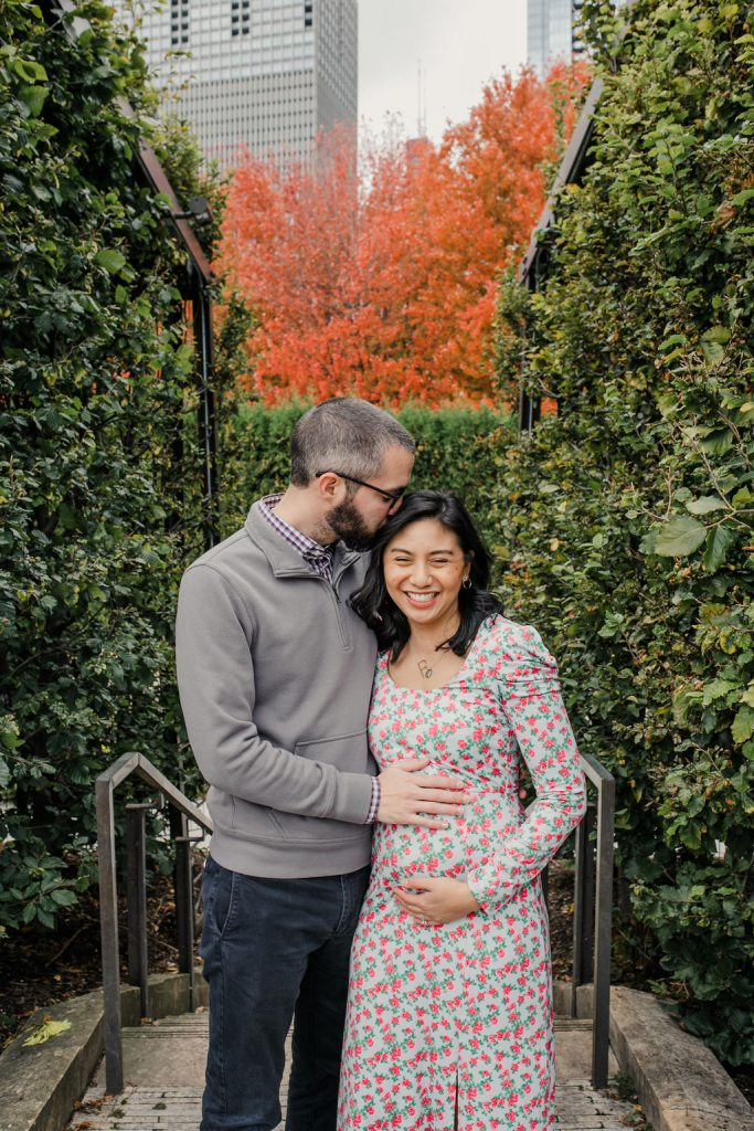 Chicago Pregnancy Announcement - Getting Pregnant After Cancer