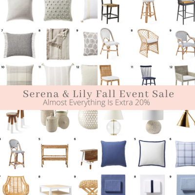 Serena & Lily The Fall Design Event