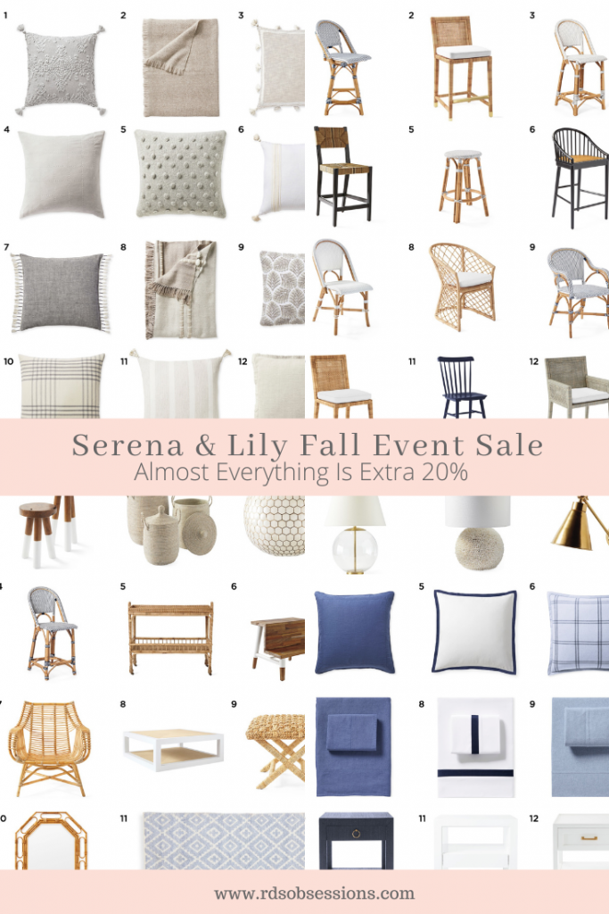 Serena & Lily The Fall Design Event Sale