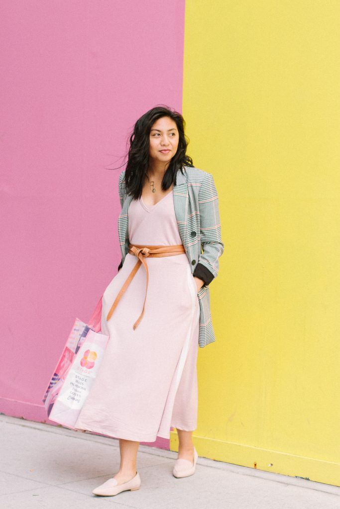 How To style summer clothes in the Fall.