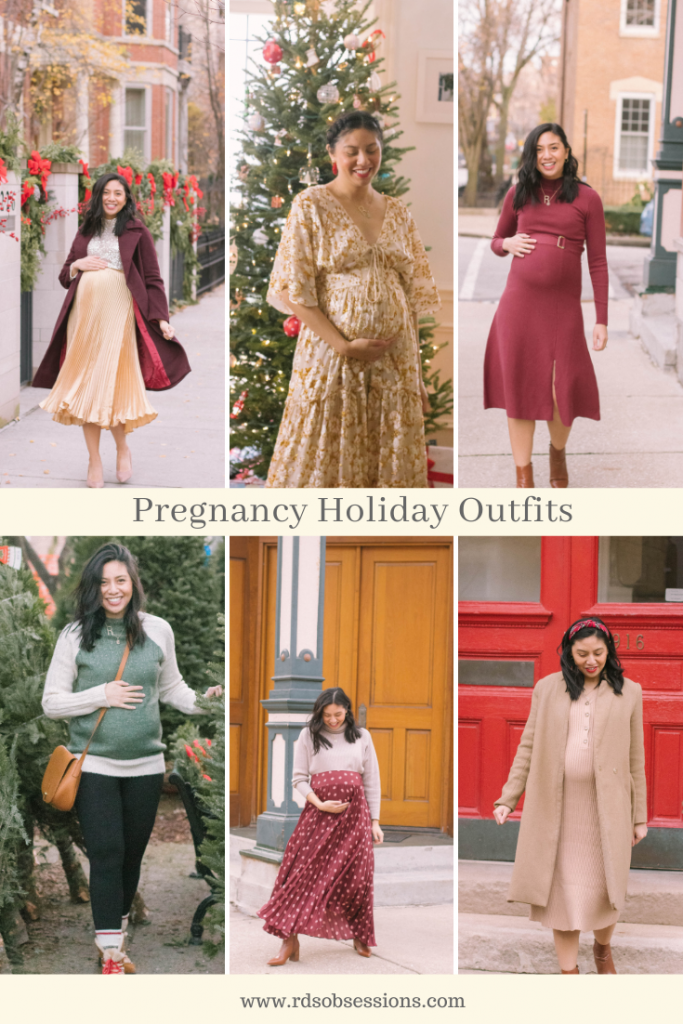 Pregnancy Holiday Outfits
