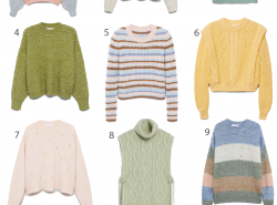 12 Spring-Colored Sweaters