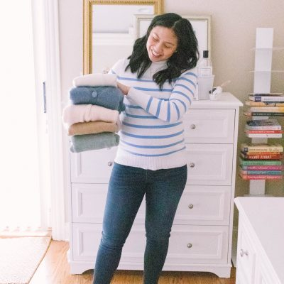 How To Take Care Of Sweaters + Amazon Giveaway
