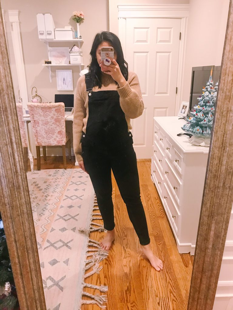 Baggy Sweater and Overalls