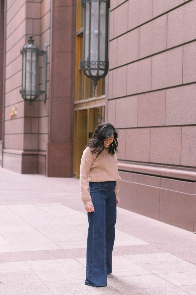 How to Style Wide-Leg Jeans