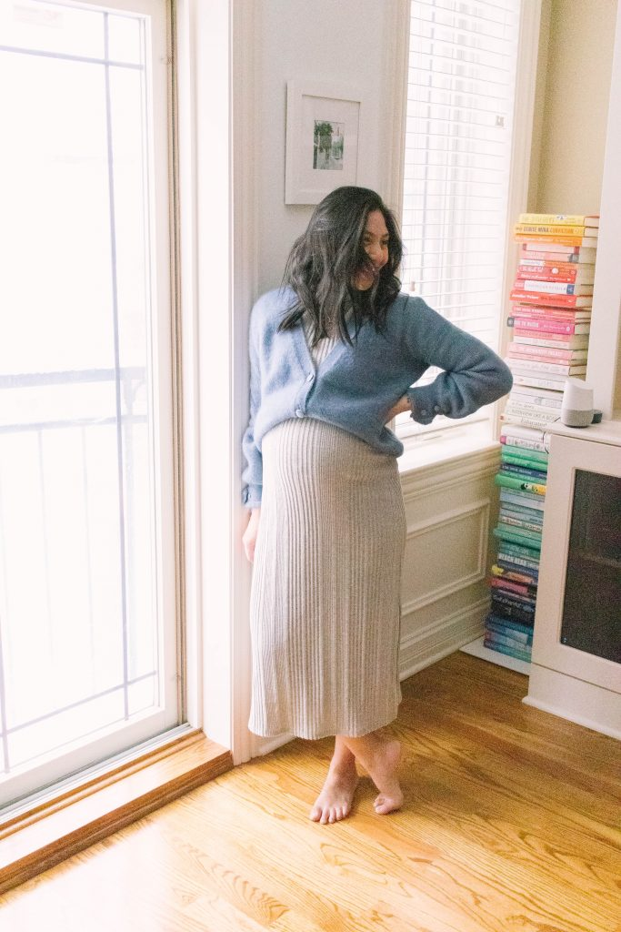 How To Style A Chunky Cardigan