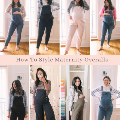 How To Style Maternity Overalls