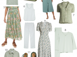 Sage Green For Spring Outfit