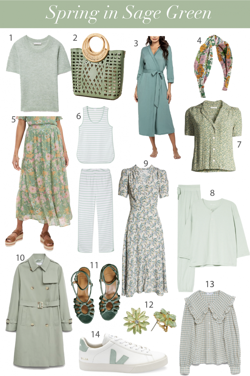 Currently Loving Sage Green This Season