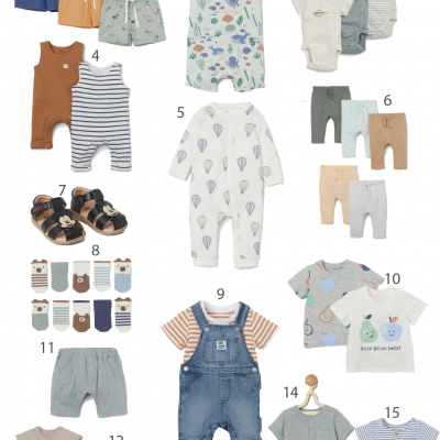 What I'm Loving At H&M Baby – Cute & Affordable Baby Clothes + Amazon Giveaway