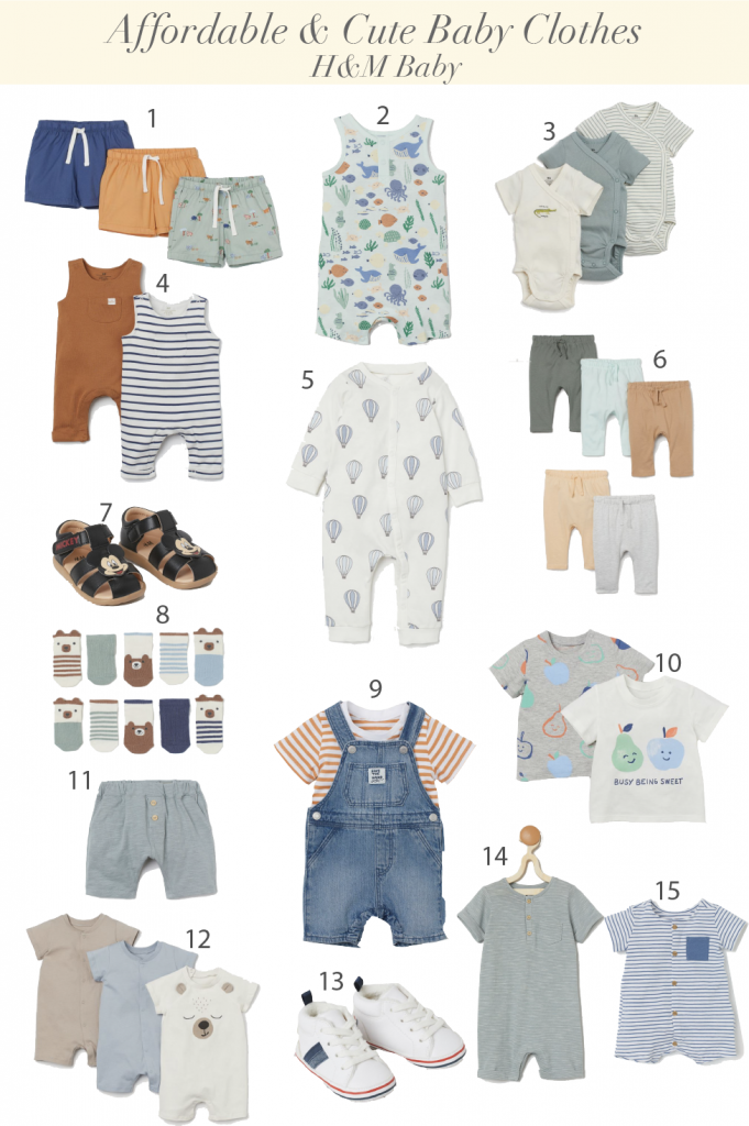 H&M Baby Clothes - Where to buy Cute and Affordable Baby Clothes