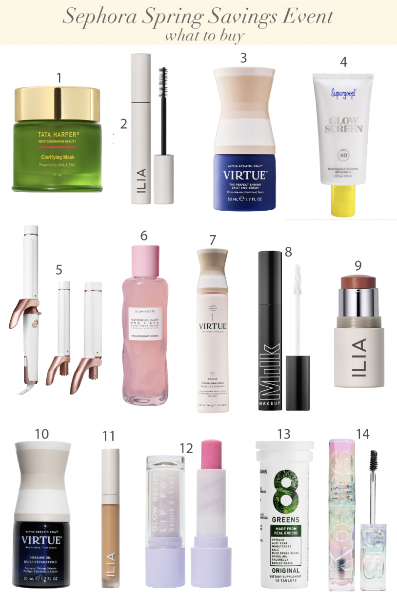 What I Recommend To Buy At Sephora Spring Savings Event