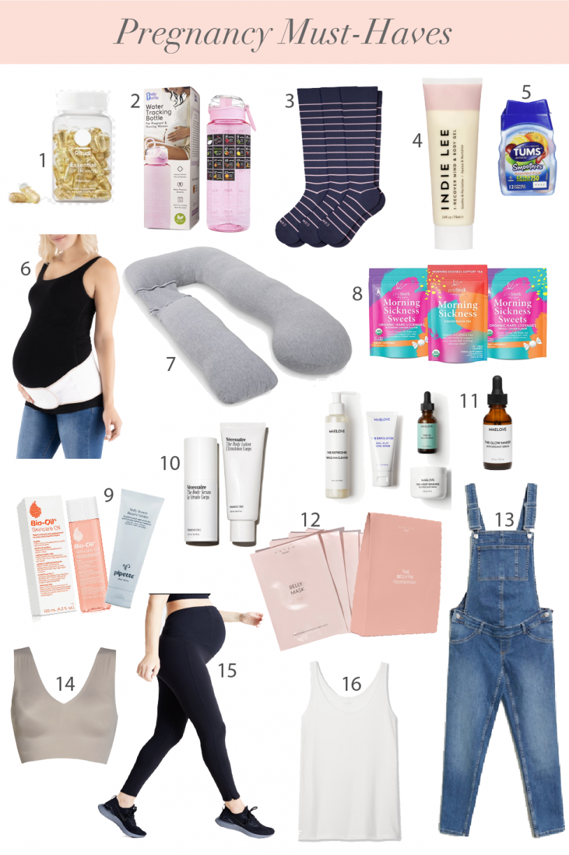 My Recommended Pregnancy Products
