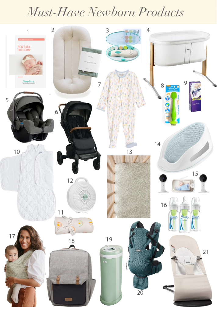 Must Have Newborn Products